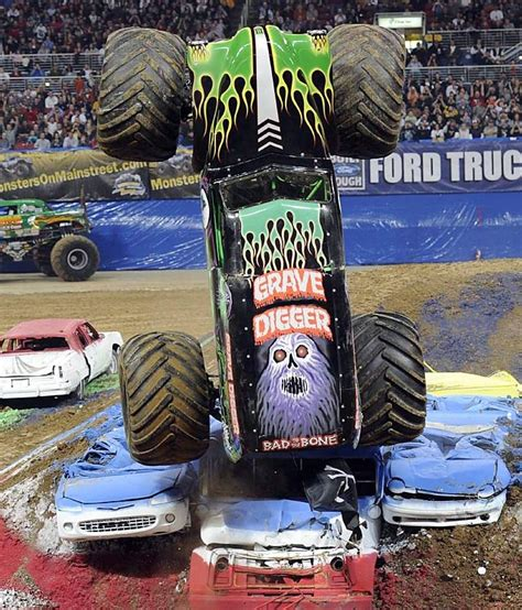 monster trucks grave digger bad to the bone 66 best images about monster trucks on pinterest monster