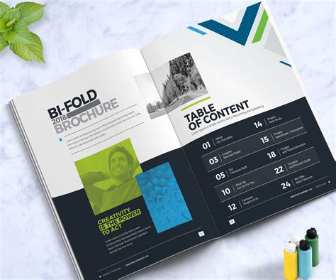 Business Brochure Design Template Indesign Brochure Company Profile Annual Report 2018 Business Catalogue Design Templates