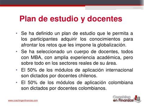 Mba Uvm Plan De Estudios by Por Qu 233 Estudiar Un Mba