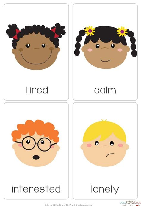printable feelings flashcards for toddlers 513 best images about emotions feelings activity on