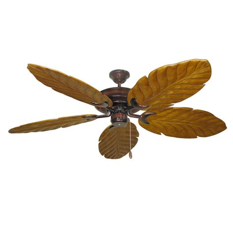 wood blade ceiling fans wine raindance 100 series ceiling fan real wood carved