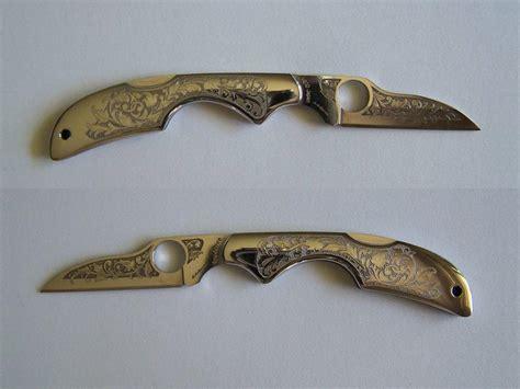 engraved blades engraving blade