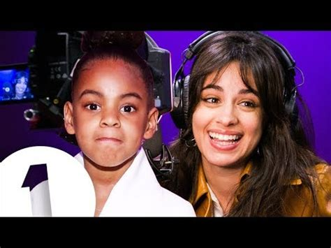 yes camila cabello noticed blue ivy hushing beyonc 233 and it nearly wrecked her grammys speech