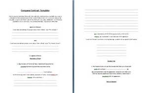business contracts contract templates part 2
