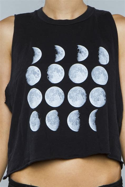 lunar top diy melville moon phases tank t shirt lunes