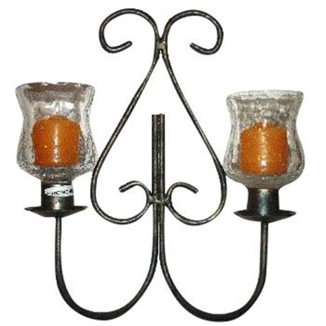 Votive Wall Sconce Wall Sconce For 2 Votive Candles Antique Finish Scented Soy Candles By A Candle Co Bell A