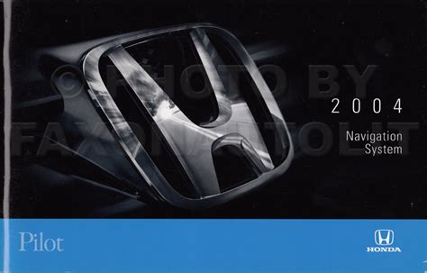 car maintenance manuals 2003 honda pilot navigation system 2003 2004 honda pilot repair shop manual original