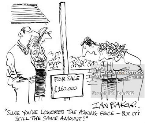selling houses news and political cartoons
