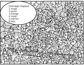 30 dessins coloriage magique 235 224 imprimer