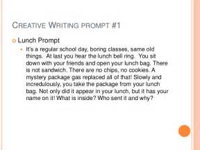 High School Essay Writing Prompts by Creative Writing Prompts