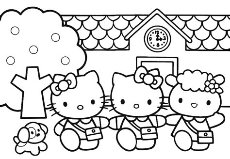 mewarnai gambar hello kitty ayo mewarnai gambar kartun romantis auto design tech