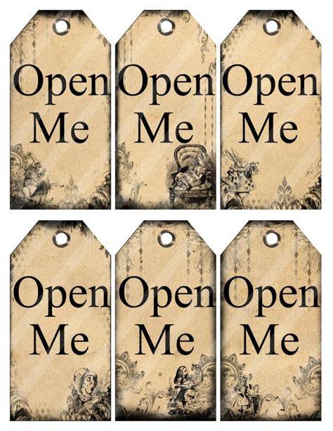 alice in wonderland tags template in printable tags digital open