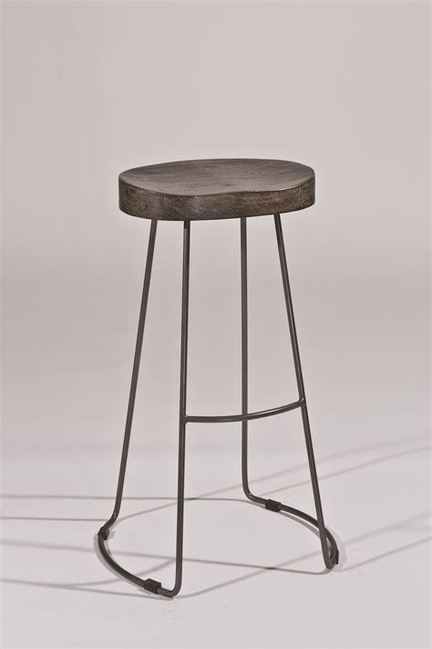 Tractor Bar Stools by Hillsdale Backless Bar Stools Minimalist Tractor Non