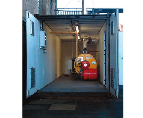 Boil House by Containerised Boiler Houses Turnbull Engineers