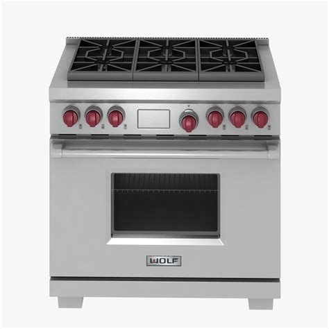 kitchen appliance electric stove 3d model cgtrader com wolf gas range 3d model max obj 3ds fbx cgtrader com