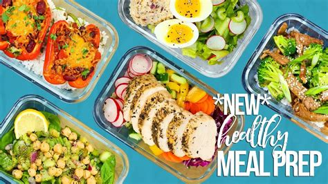 new year food preparation 5 new healthy meal prep ideas new year 2018