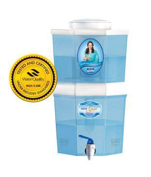 kent uf gravity water purifier gold optima best deals with