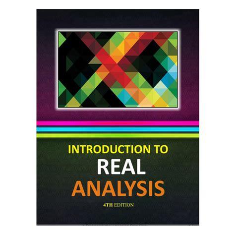 introduction  real analysis  edition  robert