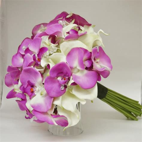 wedding bouquet lilies and orchids wedding bouquets orchids and calla lilies www imgkid