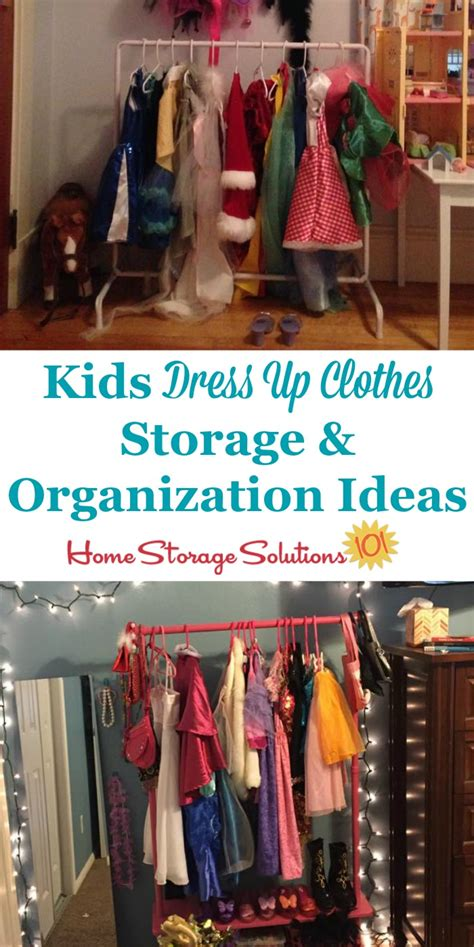 kids clothing storage kids dress up clothes storage organization ideas