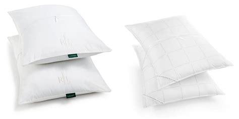 ralph alternative pillow macy s ralph bronze comfort alternative