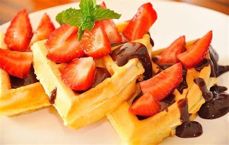 como decorar waffles waffles para todos