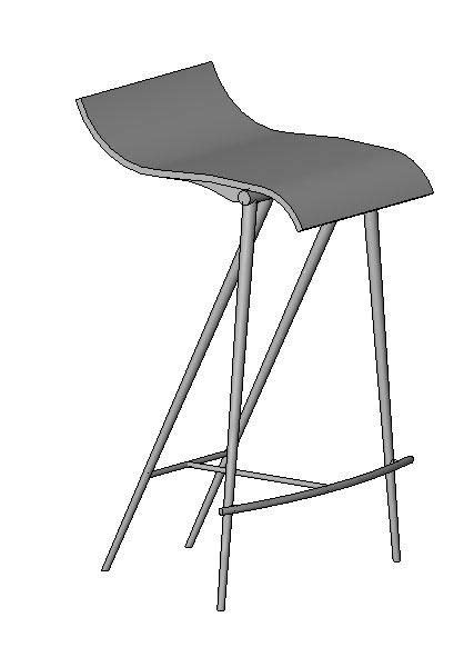 bar stool revit family modlarcom