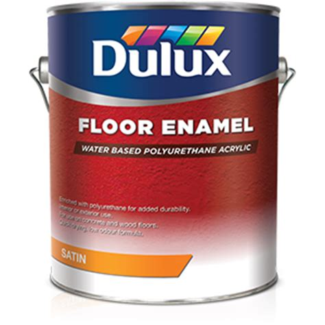 dulux water based floor enamel