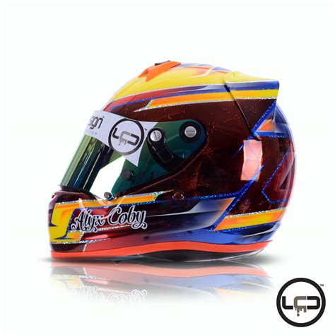 helmet design ireland alyx coby arai ck6 karting helmet for 2017 lcd