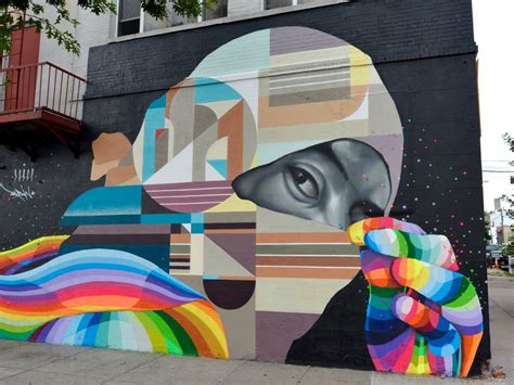 Mirror Murals Walls nyc s coolest street art to visit now business insider