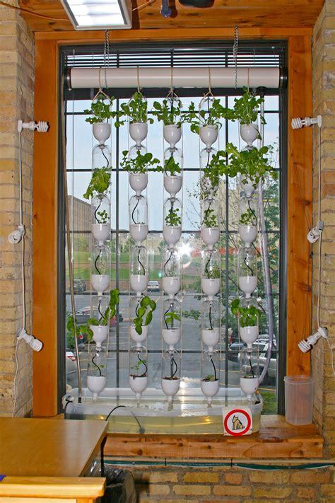 Vertical Window Garden Growing Green In Vertical Spaces