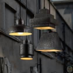 Kitchen Pendants Lights Over Island rustic black 4 light multi light designer pendant lighting