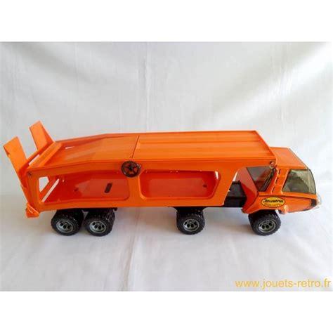Camion Porte Voiture Jouet by Camion Porte Voitures Goliath Joustra Jouets R 233 Tro