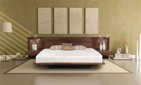 Nightstand With L Attached by Headboard With Nightstand Attached Bedroom Large Wall
