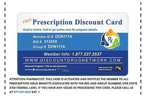 manufacturer coupons for prescription drugs