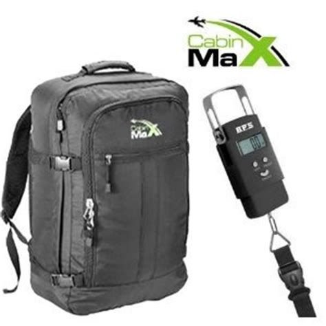 cabin max bag cabin max flight bag and digital luggage scale set