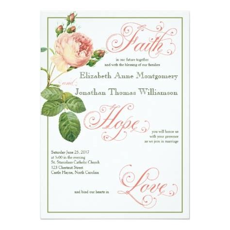 241 best images about christian wedding invitations on