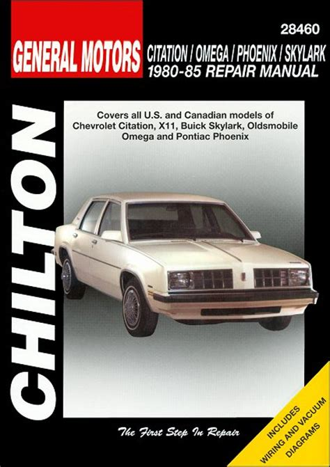 buick skylark x cars 1980 to 1985 haynes automotive repair manual buick citation x11 skylark omega phoenix repair manual 1980 1985