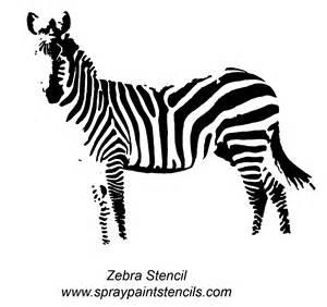 zebra template zebra stencil gif printables stencils sts