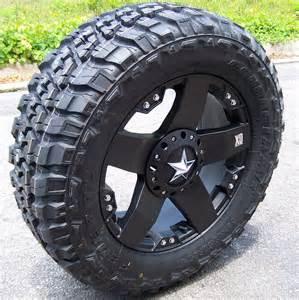 Rockstar Truck Wheels And Tires 20 Quot Black Xd Rockstar Wheels Rims 33x1250 Federal M T