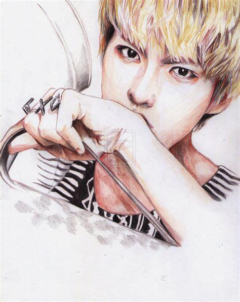 Kpop Drawing by Fanart Kpop Exo Exo M Kpop Fanart K Popfanart