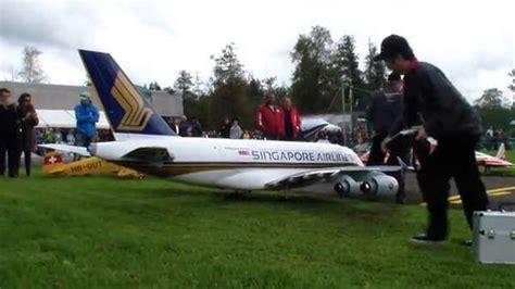 rc pesawat airbus a380 sepanjang 4 5 meter percaya bisa