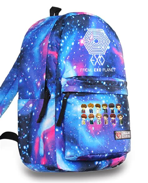 Backpack Logo Exo kpop exo planet exo m exo k maze logo backpack who badly