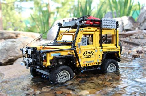 lego range rover lego land rover camel trophy for the boys