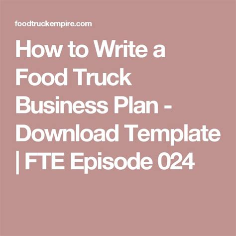 Food Truck Business Template 27 Best Food Truck Images On Food Carts Food