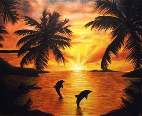 sunset by marvin silva original art