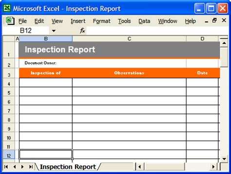 Operations Guide Template Pack Instant Download Forms Checklists And Spreadsheets Inspection Report Template Word
