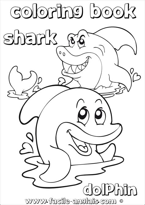 advanced dolphin coloring pages coloring picture of shark images crazy gallery