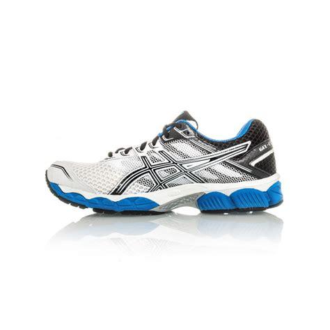 asics gel cumulus 15 2e mens running shoes white