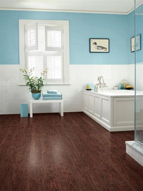 wood laminate flooring in bathroom laminate bathroom floors hgtv